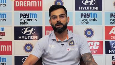 Kohli: Pitch conversation is one-sided