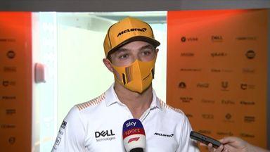 Norris feels good in the McLaren