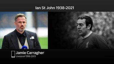 Carragher pays tribute to 'legend' St John