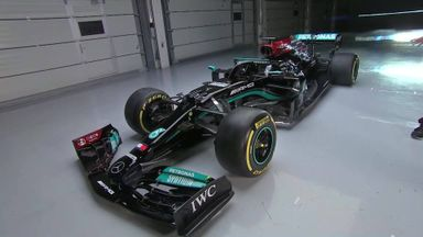 A closer look at Mercedes' new F1 car