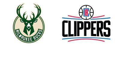 NBA : LA Clippers @ Milwaukuee