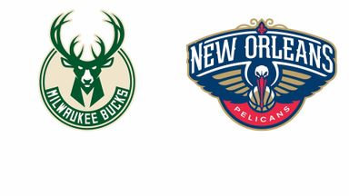 NBA: Milwaukee @ New Orleans