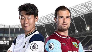 PL: Tottenham v Burnley