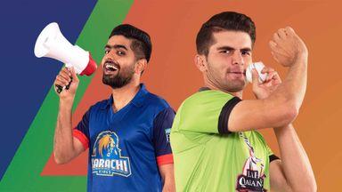 PSL: Karachi Kings v Lahore Qaland