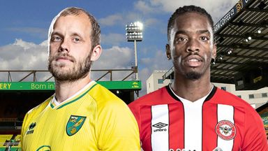 EFL Hlts: Norwich v Brentford