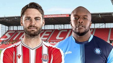 EFL Hlts: Stoke City v Wycombe