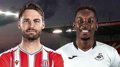 EFL Hlts: Stoke v Swansea