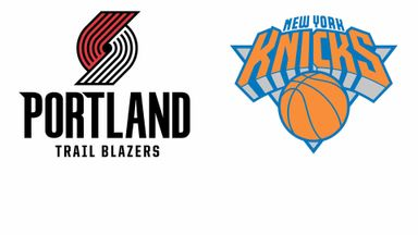 NBA: Portland @ New York