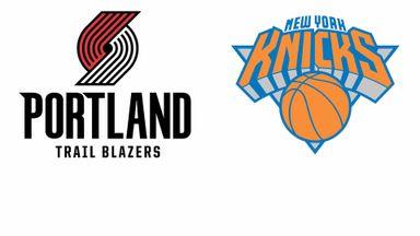 NBA: Portland @ New York