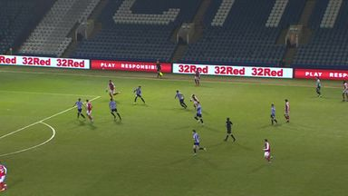 Smith heads in the opener for Rotherham