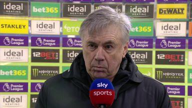 Ancelotti: West Brom deserved better
