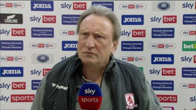 Warnock furious with officials!