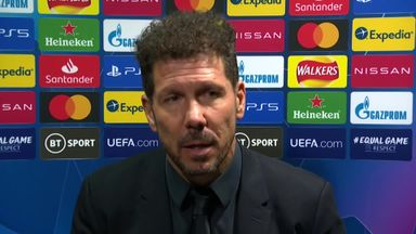 Simeone: Chelsea were the better team