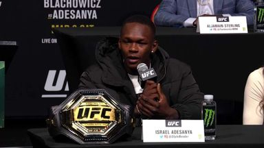 Adesanya: I've got a Viking in front of me!