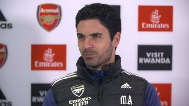 Arteta plays down Barcelona manager speculation