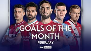 Feb PL Goals of the Month - Bruno, Foden and more
