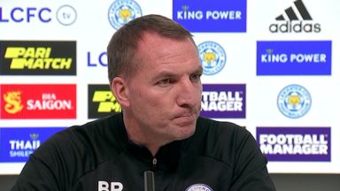 Rodgers plays down Leicester top four hopes