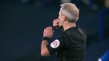 Keane goal ruled out by VAR!