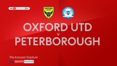 Oxford 0-0 Peterborough