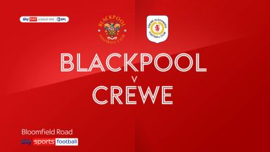 Blackpool 1-1 Crewe