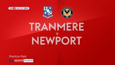 Tranmere 1-0 Newport