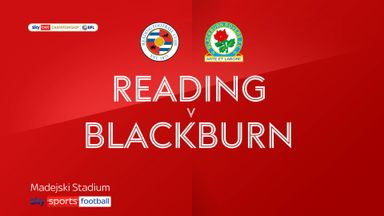 Reading 1-0 Blackburn