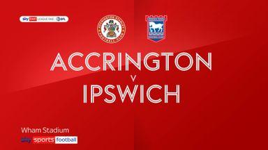 Accrington 1-2 Ipswich