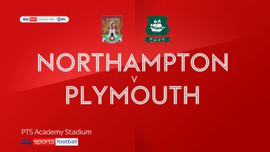 Northampton 2-0 Plymouth