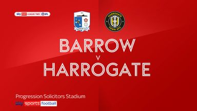 Barrow 0-1 Harrogate