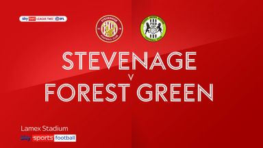 Stevenage 3-0 Forest Green