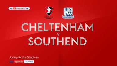 Cheltenham 1-0 Southend