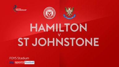 Hamilton 1-1 St Johnstone