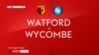 Watford 2-0 Wycombe