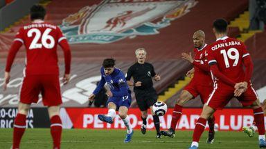 HT Liverpool 0-1 Chelsea