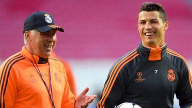 Ancelotti: Messi or Ronaldo? Ronaldo