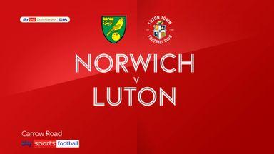 Norwich 3-0 Luton