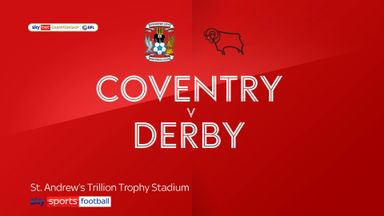 Coventry 1-0 Derby