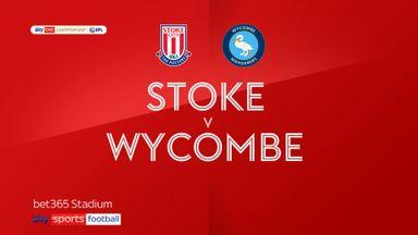 Stoke 2-0 Wycombe
