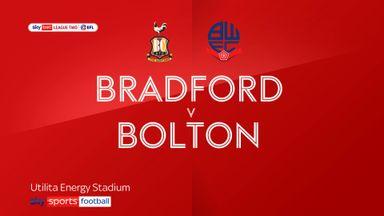 Bradford 1-1 Bolton