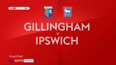 Gillingham 3-1 Ipswich