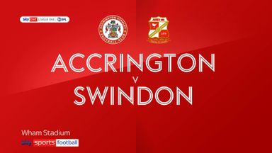 Accrington 2-1 Swindon