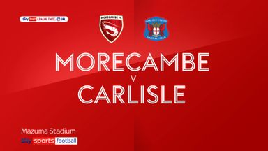 Morecambe 3-1 Carlisle