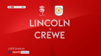 Lincoln 3-0 Crewe
