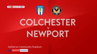 Colchester 0-2 Newport