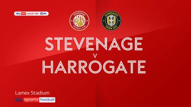 Stevenage 1-0 Harrogate