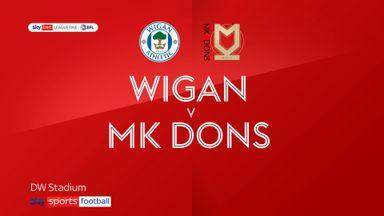 Wigan 3-0 MK Dons