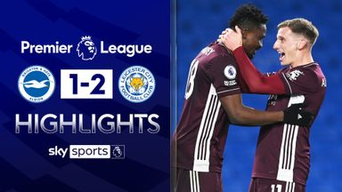 Amartey header hands Leicester win at Brighton
