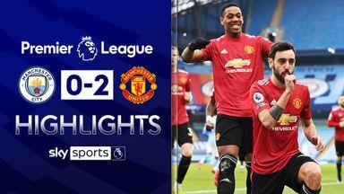 Man Utd stun Man City to end winning run