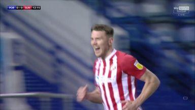 Wyke heads Sunderland into the lead!