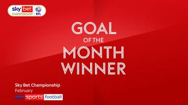 Sky Bet EFL Goal of the Month winners: Feb